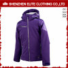 Nova chegada de roupa feminina de vento de Inverno casaco roxo (ELTWBJI-21)