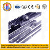 Engranaje y estante accesorios del alzamiento de la construcción con ISO9001