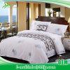 Fabrik-Zubehör-stellte preiswertes Baumwollbett-Blatt für Hotel-Wohnung ein