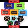 Schürhaken-Chips des Lehm-760PCS stellten/die Kronen-Lehm-Kasino-Chips, die eingestellt wurden für spielendes Spiel mit Aluminiumfall ein (YM-SGHG002)