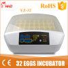 Volaille 32 automatique d'usine de Hhd la mini Egg l'incubateur Yz-32
