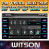Witson Windows Car Multimedia player de DVD para a Toyota Hilux 2015 Revo 2015