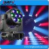 DJ de las luces de la etapa de iluminación por parte de lavado de haz de LED de 7*40W