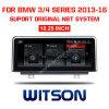 Grande automobile DVD dello schermo di Witson 10.25  BMW per BMW 3 serie F30/F31/F34 (2013-2016) di /4
