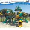 Équipement en plastique HD-Zba201 de jeu de glissière de cour de jeu extérieure d'enfants