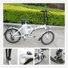 Bicicleta elétrica de dobramento de Chiese 20 ' com a bateria de lítio 36V