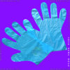 Guantes disponibles del HDPE