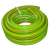 Mangueira de rega de jardim de PVC verde
