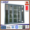 Perfil de alumínio Janela de vidro reflector de alumínio