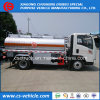 Sinotruck HOWO 6 바퀴 5000 리터 연료 탱크 트럭 5000L 기름 Refueling 트럭