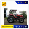 100CV tractor agrícola (4X4) com pás carregadeiras dianteiras e a retroescavadeira