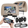 HDMI Port 9 Inch HD Headrest Car DVD Player SD/USB/IR FM TransmitterかGames/Detachable Zipper、IR Headphones Included