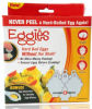 Eggies duro hervidor de huevos hervidos