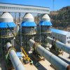 Horno rotatorio calcinado cemento de la piedra caliza para la planta activa de la cal