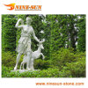 Belle statue de jardin
