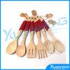 Conjuntos de madera del utensilio de la fork y de la cuchara