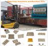 Máquina de bandeja de ovo de grande capacidade / linha de produção de bandeja de ovos