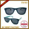 Lunettes de soleil en bambou en bois de grossiste de lunettes de soleil de la planche à roulettes Fx161