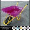 Курган колеса фуры тачки Wb6414 вагонетки тележки инструмента сада складывая