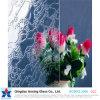 3-12mm de pluie Pattern de flottement de la feuille de verre pour le verre de construction