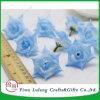 Rosa de seda artificial simulación alta Cabeza floral Flores artesanales decorativos