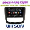 Witson grande ecrã de 9 com sistema Android 6.0 aluguer de DVD para a Renault Kadjar 2015-2016
