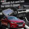 GPS van Lsailt verbindt de Androïde Doos van het Systeem van de Navigatie voor Mazda 6 Atenza Mzd de VideoControle Waze van de Knop van de Interface