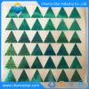Triângulo personalizado Holograma Verde Adesivo lacre de segurança