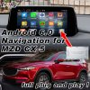 Plug&пробку Android 6.0 для интерфейса системы навигации GPS 2014-2018 Mazda 2/3/6/CX-3/CX-4/CX-5/Mx с WiFi Mirrorlink играть в Интернете Google Map Yandex Waze etc