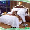 100% algodão Listra Cetim Hotel Lençol para 3 Star