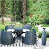 Modernes graues im Freiengarten-Terrasse-Hotel-beiläufige Möbel