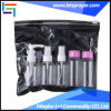 6pzas Cosmetic Travel Kit botella con bolsa