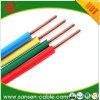Câble d'alimentation électrique de l'isolation 300/500V 450/750V de PVC de conduite d'en cuivre de fil