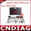 Lancez le connecteur X431 GDS Lancement en ligne de mise à jour GDS Scan Tool