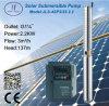 zentrifugale angeschaltene tiefe wohle Solarpumpe 4sp3/32-2.2