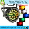 세륨, RoHS를 가진 최고 밝은 LED 편평한 동위 빛 RGBW 4in1 Epistar LEDs