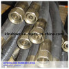 Ensemble de tuyau en caoutchouc hydraulique tressé d'acier inoxydable