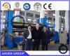 Da placa universal superior do rolo de W11S-20X2500 Hydraulic máquina de rolamento de dobra