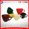 Tazza di ceramica del caffè della minestra nei colori differenti
