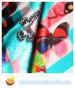 Tela de poliéster de satén de impresión digital para el vestido (XY-P20150031S-2)