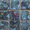 Vidriada hecha a mano Fambe mosaico de cerámica (CST255)