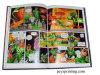 Stampa del libro di fumetti di stampa del libro della foto