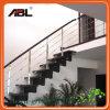 Pasamanos de escaleras interiores de acero inoxidable diseño
