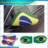 Chaussettes nationales de miroir de voiture du Brésil (B-NF13F14026)