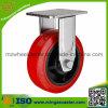 Industrielle örtlich festgelegte Polyurethan-Rad-Fußrolle