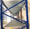 Het Net Decking van het staal voor het Rek van de Pallet van het Pakhuis