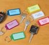Schlüsselring Identifikation-Marken eingestellte Verzierung