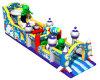 Neuer Entwurfs-Platz-themenorientierter aufblasbarer Spielplatz-aufblasbares Hindernis für Kinder für Erwachsenen