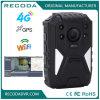 A câmera Wearable de WiFi do corpo da polícia do OEM 1440p/Waterproof a câmera de fluência viva do corpo com 4G GPS