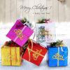 Rectángulos de regalo dulces coloridos de papel del laser para la Navidad/Festerval